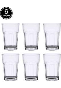 Conjunto 6Pçs Copos Rojemac Para Drink Allure 425Ml Bon Gourmet