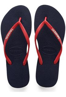 Chinelo Feminino Havaianas Slim Logo Pop Up 5603