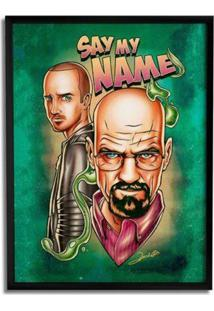 Quadro Geek10 Breaking Bad Verde