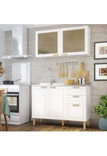 Cozinha Completa 2 Peças Americana Multimóveis 5925 Branco