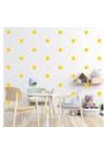 Adesivo Decorativo De Parede - Kit Com 45 Flores - 013Kae01