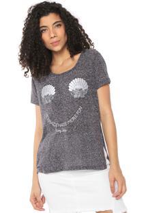 Camiseta Hang Loose Mermaids Rustique Cinza