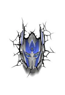 Luminária De Parede - 3D - Transformers - Optimus Prime - Beek Geeks