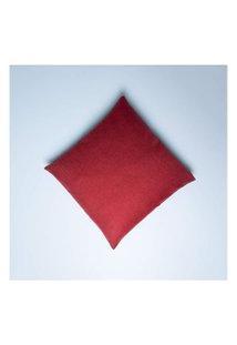 Capa De Almofada Rideau 45X45 Cor: Vermelho - Tamanho: Único