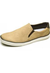 Slip On Sapatênis Top Franca Shoes Areia