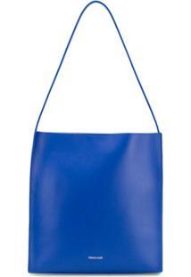 Frenzlauer Bolsa Tiracolo Quadrada - Azul