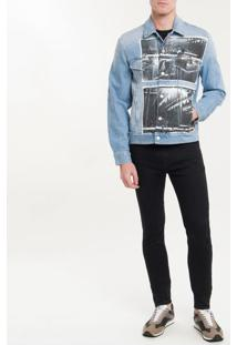 Jaqueta Jeans Ckj Masc Andy Warhol Rodeo - Indigo - M