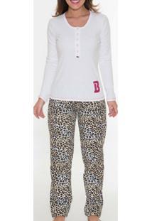 Pijama Comprido Recco 08177 - Feminino
