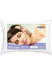Travesseiro Flocos Conforto 40 Cm (Larg) - 52730 Sun House