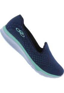 421529042a6 ... Tênis Olympikus Rose - Feminino - Azul Esc Verde Cla