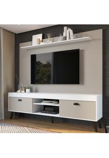Estante Para Tv Até 70 Polegadas 2 Portas Ht1800 Branco - Art In Móveis