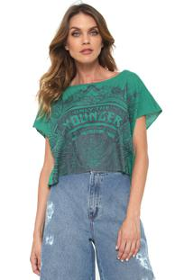 Camiseta Cropped Triton Younger Verde