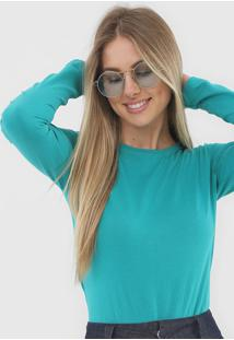 Blusa Malwee Lisa Verde - Verde - Feminino - Algodã£O - Dafiti