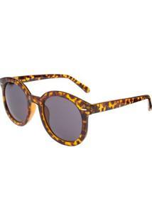 Óculos Ray Flector Underground - Feminino-Amarelo+Marrom
