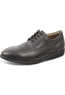Sapato Social Sandro Moscoloni Gabriel Marrom Escuro