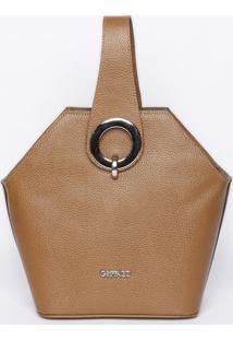 Bolsa Com Aviamento- Marrom Escuro- 25X33X12Cm- Griffazzi