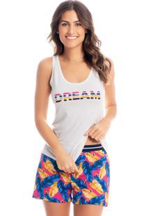Pijama Lucky Curto Regata