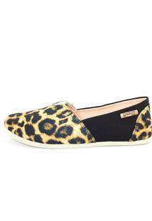 Alpargata Quality Shoes 001 Onça/Preto - Kanui