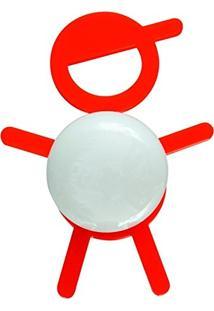 Abajur Cromalux Stickboy Vermelho