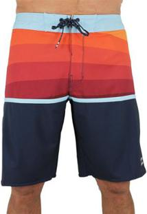 Bermuda Billabong Platinum Fifty50 X Rust - Masculino