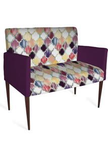 Cadeira Decorativa Mademoiselle Plus 2 Lug Imp Digital 134 - Kanui