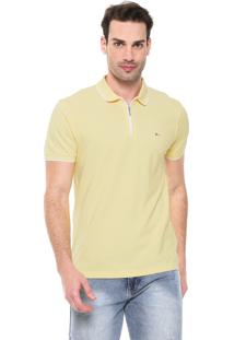 Camisa Polo Aramis Reta Amarela