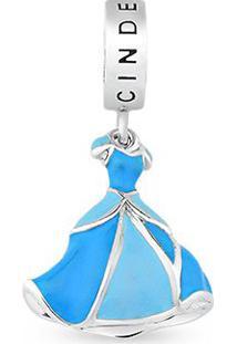 Pingente Life Vestido Da Princesa Cinderela Grande