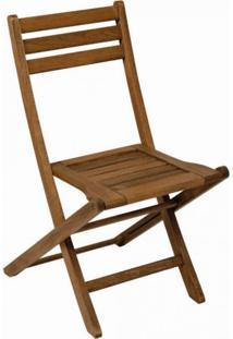 Cadeira Dobrável Para Jardim Em Madeira Maciça Ipanema Mestra Polisten Nogueira
