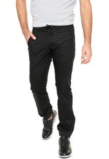 Calça Calvin Klein Jeans Jogger Preta