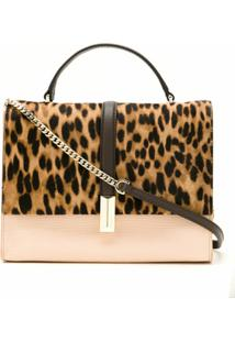 Boss Bolsa Tiracolo Animal Print - Neutro