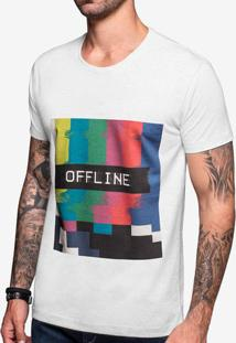 Camiseta Offline Mescla Claro 103392