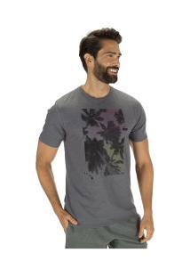 Camiseta Hurley Silk Hawaii Day Dream - Masculina - Cinza