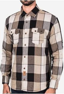 Camisa Xadrez Marrom 200336