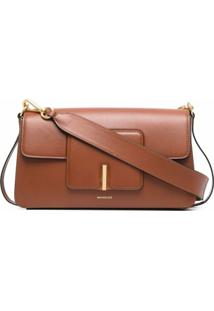 Wandler Georgia Shoulder Bag - Marrom