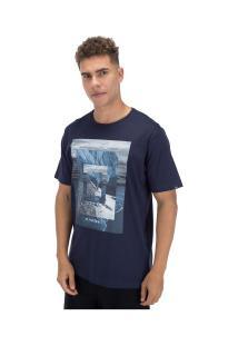 Camiseta O'Neill Estampada Sun Babe - Masculina - Azul Escuro