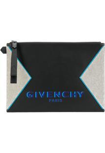 Givenchy Clutch Com Zíper - Preto
