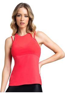 Regata Com Recortes- Vermelha- Vestemvestem