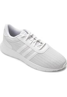 Tênis Adidas Lite Racer W Feminino - Feminino-Branco+Cinza