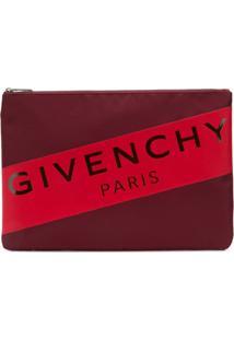 Givenchy Clutch Com Zíper - Vermelho