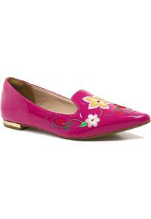 Sapatilha Zariff Shoes Slipper Flores - Feminino-Rosa