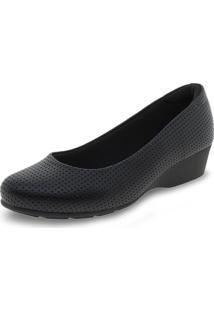 Sapato Feminino Anabela Modare - 7014200 Preto 34