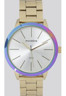 Relógio Analógico Mondaine Feminino - 76638Lpmvde1 Dourado