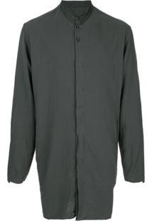 Transit Camisa Túnica Com Colarinho - Verde