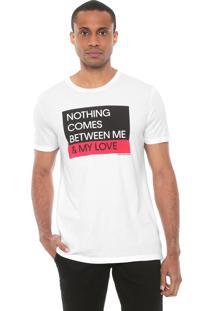 Camiseta Calvin Klein Jeans Love Branca