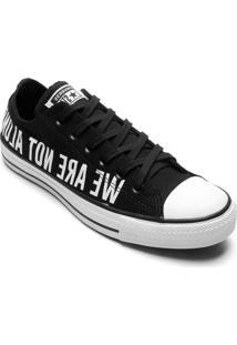 Tênis Converse All Star Chuck Taylor Ox Preto Branco Ct12260001 - Tricae