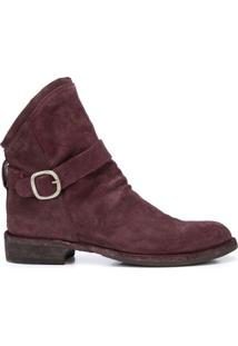Officine Creative Ankle Boot Legrand - Vermelho