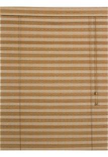 Persiana Roller Bambu Marrom 120X160Cm