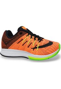 Tenis Nike Running Air Zoom Elite 8 Preto Laranja