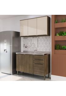 Cozinha Modulada Áustria A2891 - Casamia Elare