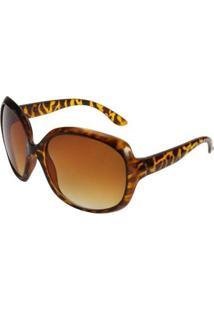 Óculos Ray Flector Gutter Buckingham Rf19Co - Feminino-Preto